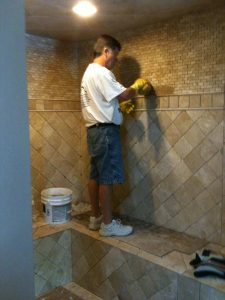 ceramic tile contractor georgetown ky bathroom remodeler