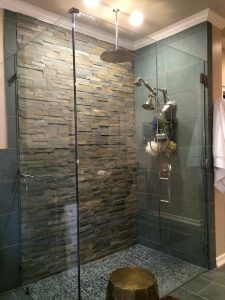 newly designed shower georgetown kentucky bathroom remodeling expert