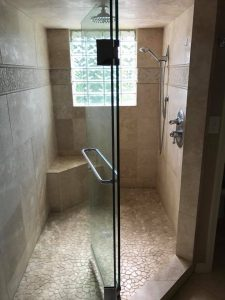 awesome new remodeled shower bathroom remodeling georgtown frankfort paris ky versailles kentucky